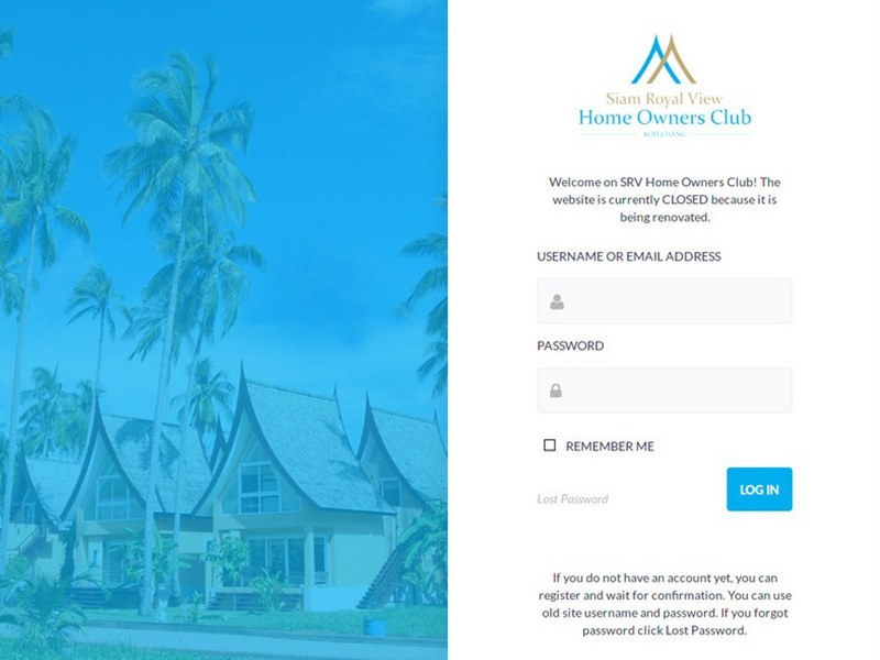 Intranet Portal of Home Owners Club